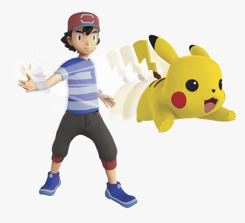 Transparent Pokemon Ash Png - Ash Y Pikachu Pokemon, Png Download, Free Download