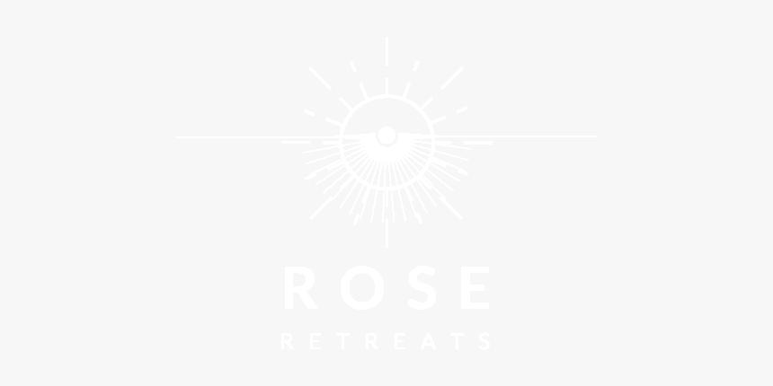 Rose Retreats Png - Johns Hopkins Logo White, Transparent Png, Free Download