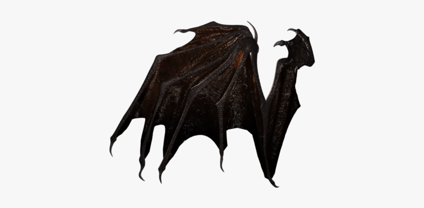 Demon Wings Png - Demon Wings Side View, Transparent Png, Free Download