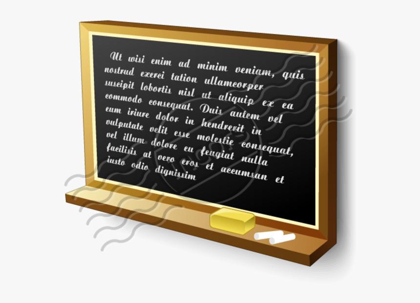 Transparent Blackboard Png - Teacher Blackboard Icon Png, Png Download, Free Download