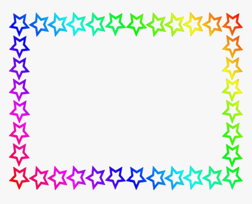Star Border Clipart - Transparent Background Star Border, HD Png Download, Free Download