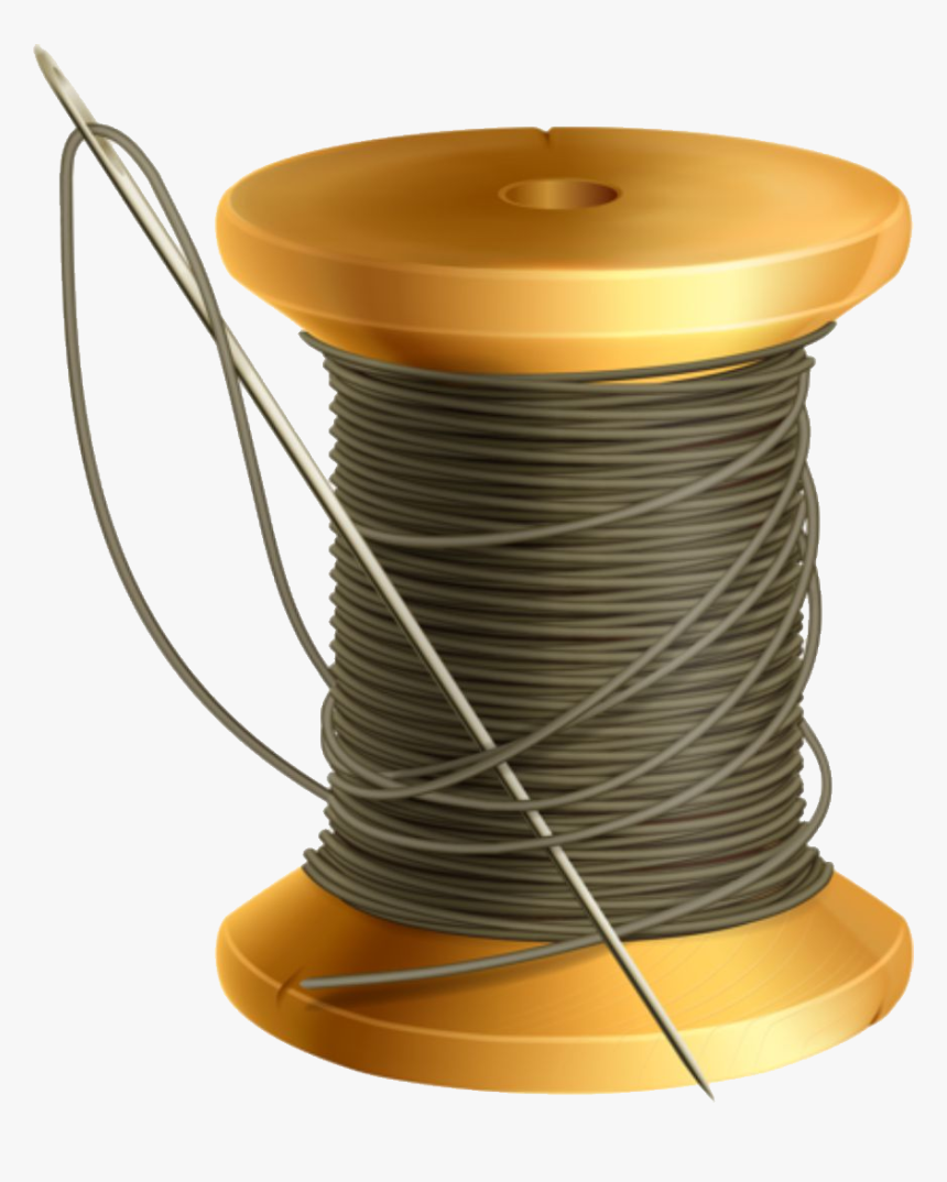 Thread And Needle Png - Rocchetto Filo Vettoriale, Transparent Png, Free Download
