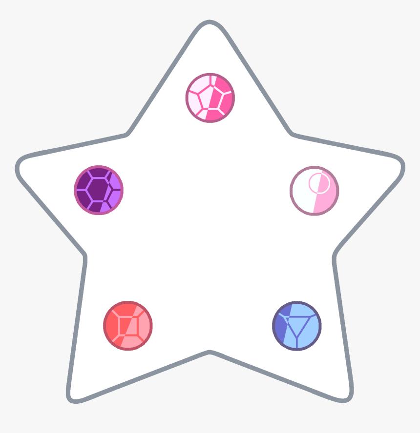 Steven Universe Star Png - Steven Universe Crystal Gems Star, Transparent Png, Free Download