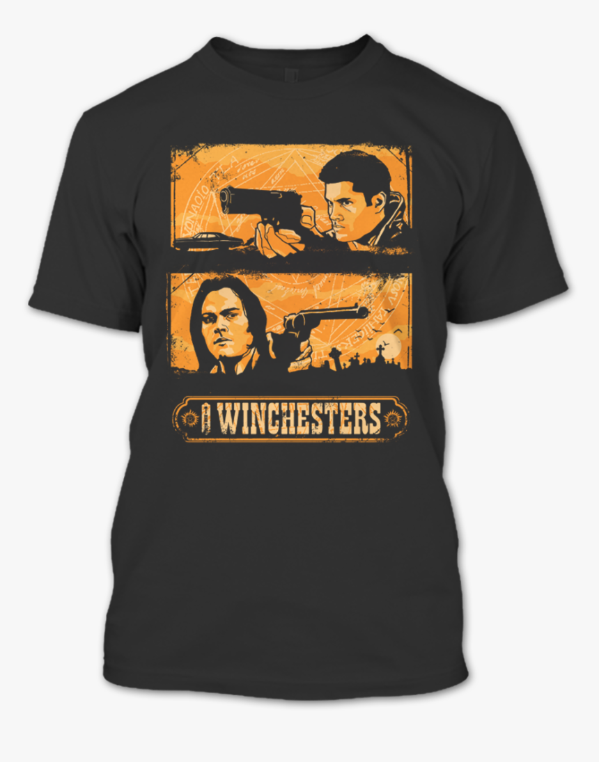 Dean Winchester T Shirt, HD Png Download, Free Download