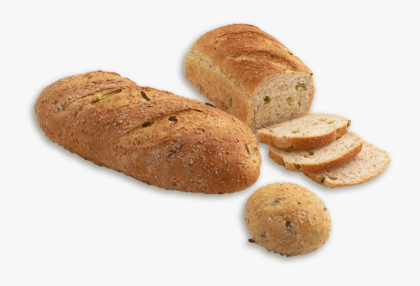 Garden Fresh Asparagus Bread - Bun, HD Png Download, Free Download