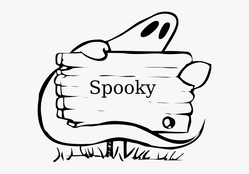 Halloween Coloring Name Tags - Halloween Ghost Coloring Pages, HD Png Download, Free Download