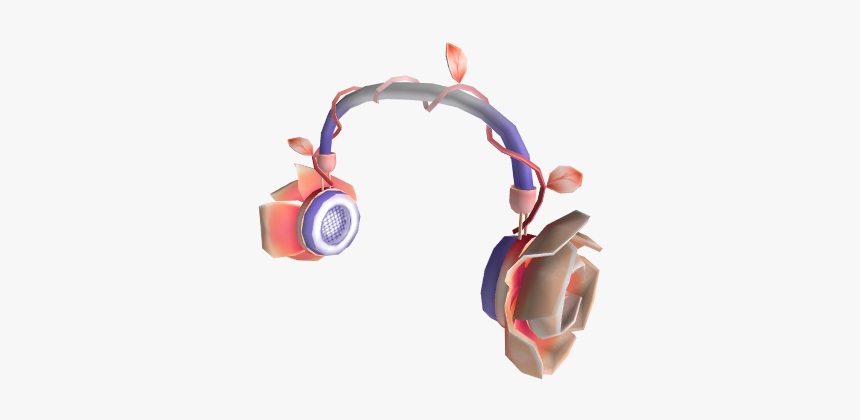 Rose Gold Rose Headphones - Cable, HD Png Download, Free Download