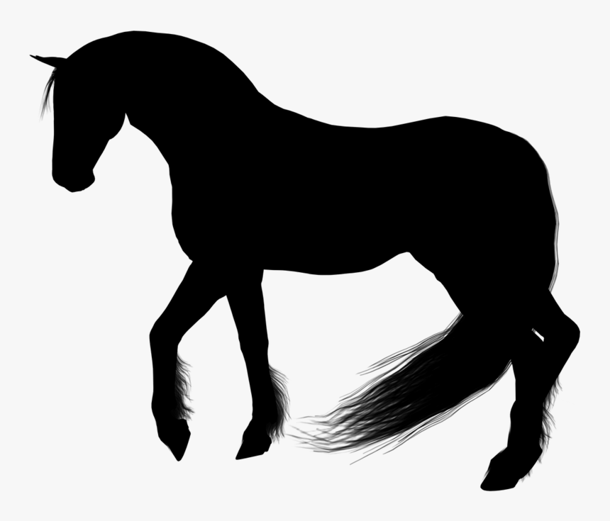 Horse Silhouette Clipart - Clip Art Horse Silhouette, HD Png Download, Free Download