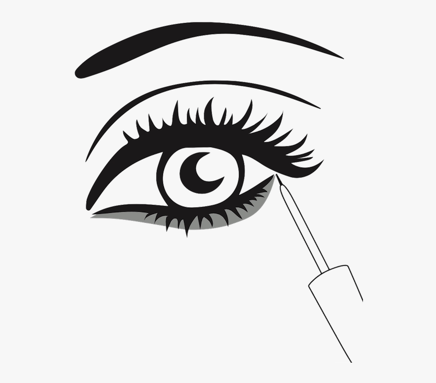 Made In Switzerland - Eyes With Lashes Clipart, HD Png Download, Free Download
