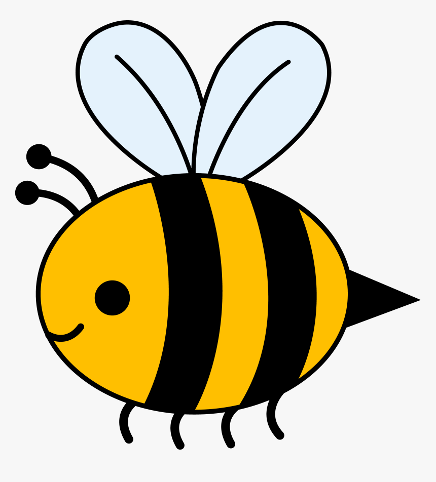 Cute Bumble Bee Clipart - Bumble Bee Cartoon Png ...