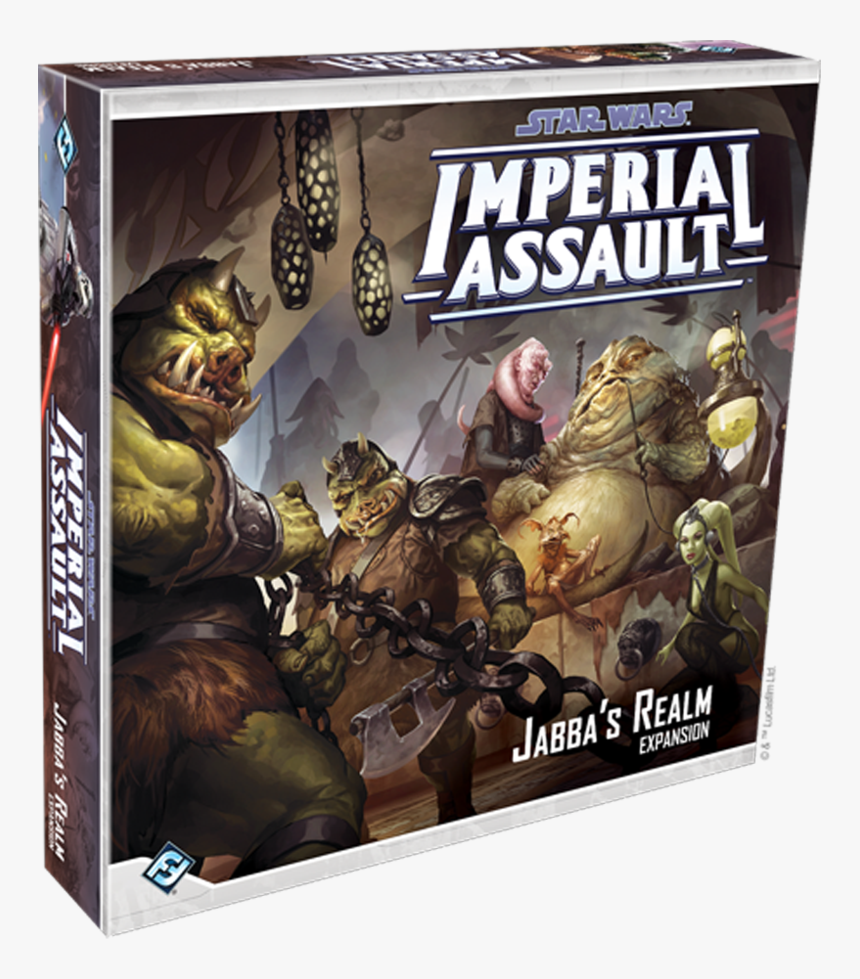 """Star Wars Imperial Assault Jabba""""s Realm Expansion - Star Wars Imperial Assault Jabba's Realm, HD Png Download, Free Download"""