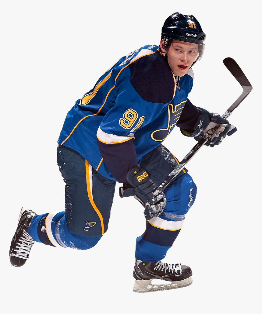 Hockey Png - St Louis Blues Player Png, Transparent Png, Free Download