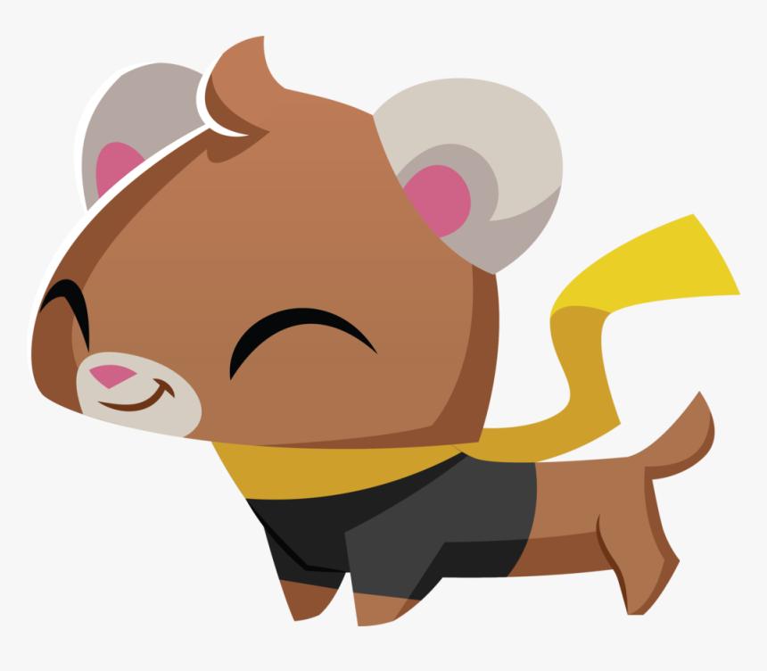 Pet Ferret - Cartoon, HD Png Download, Free Download