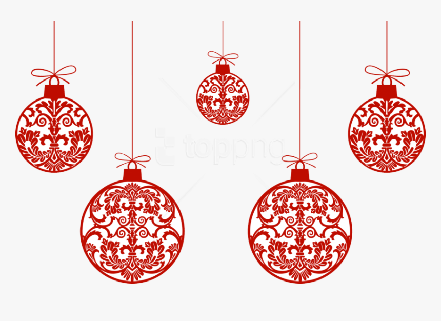 Holiday-ornament - Christmas Ornaments Transparent Background, HD Png Download, Free Download