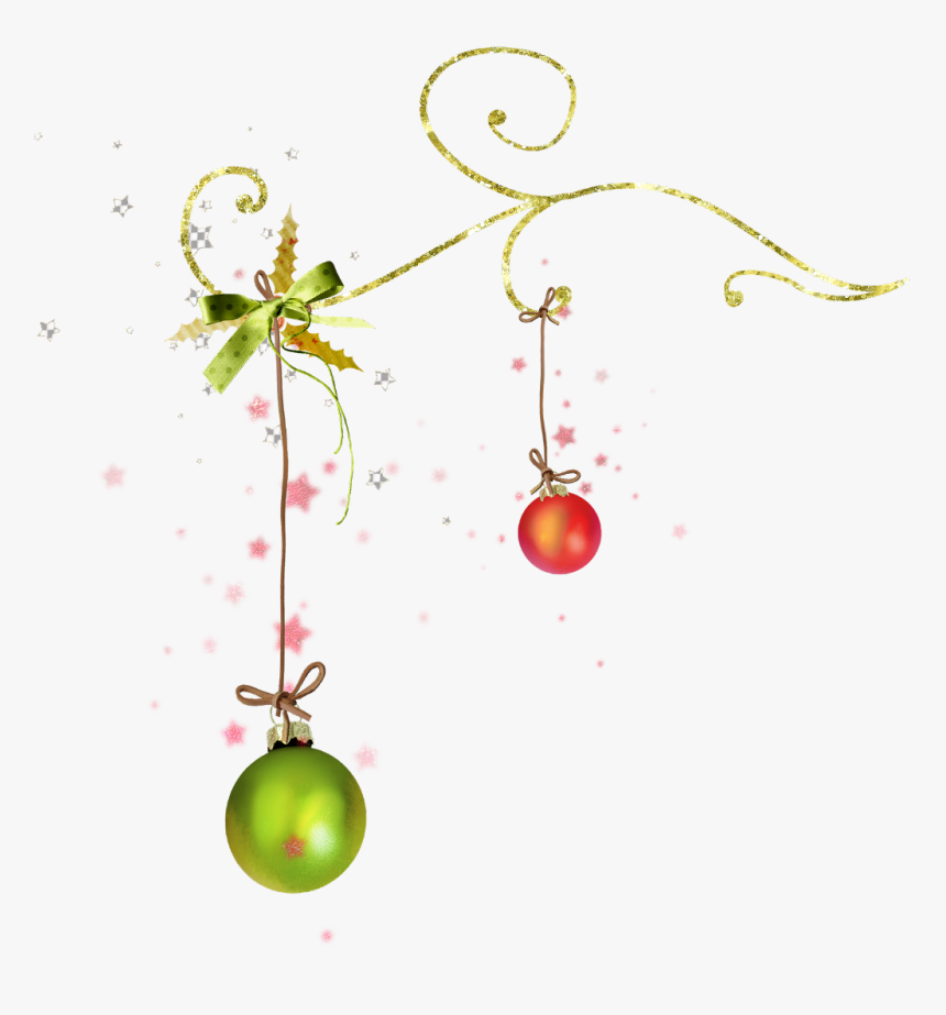 #ftestickers #christmas #decoration #balls #border - Christmas Ornament, HD Png Download, Free Download