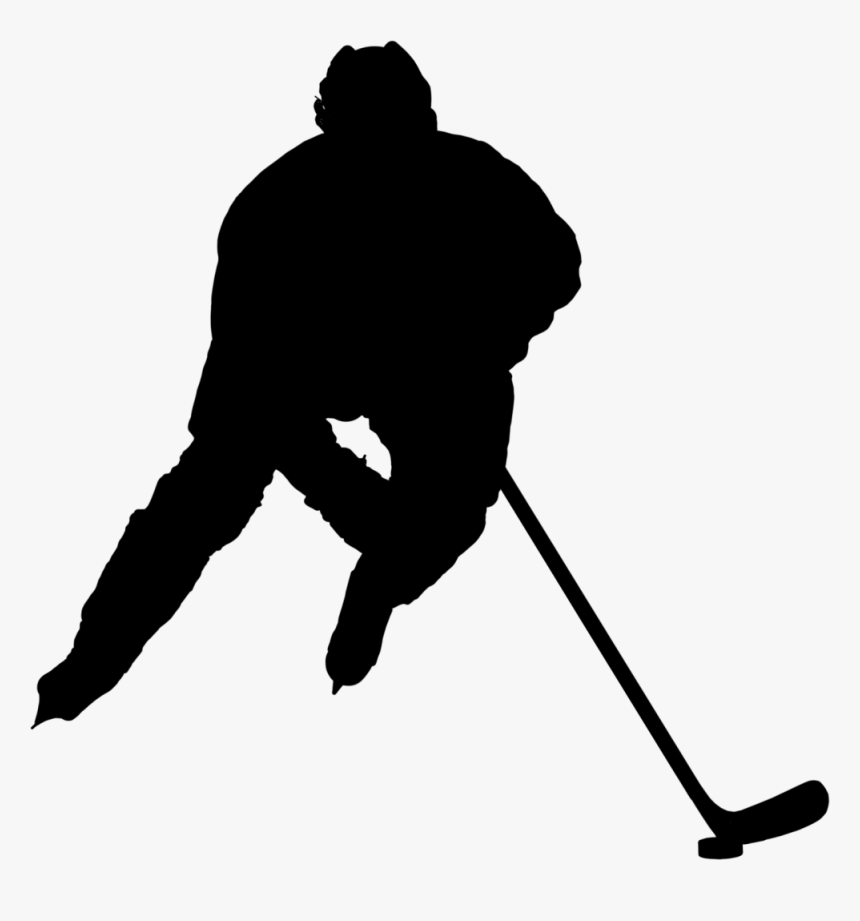 Transparent Golfer Silhouette Png - Hockey Player Png, Png Download, Free Download