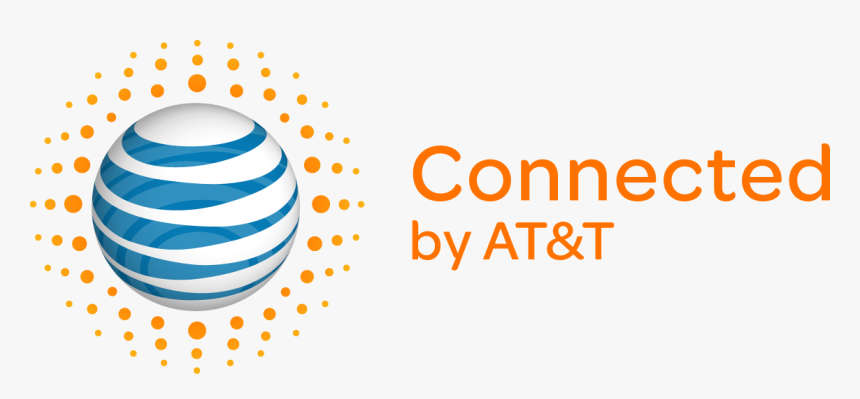 Powered By At&t Logo - Connected By At&t, HD Png Download, Free Download