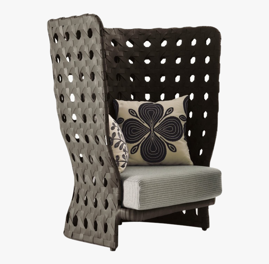 Armchair With High Back, HD Png Download, Free Download