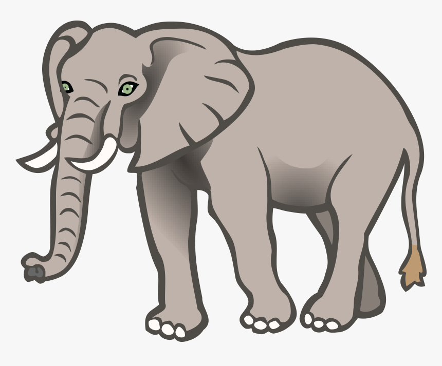 Elephant Cliparts For Free Elephants Clipart Water Elephant Clipart Black And White Hd Png Download Kindpng