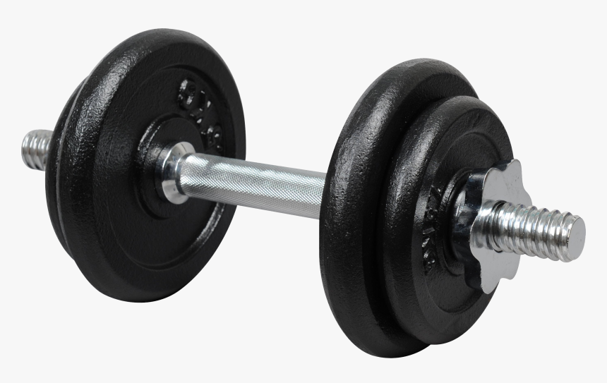 Transparent Weights Clipart - Dumbbell Png, Png Download, Free Download