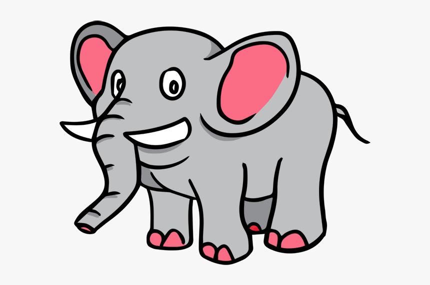 Elephant Clip Art Gajah Clipart Hd Png Download Kindpng