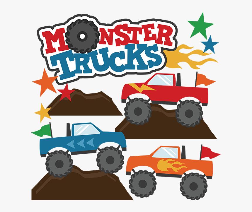 Monster Truck Cartoon Toro Loco Hd Png Download Kindpng