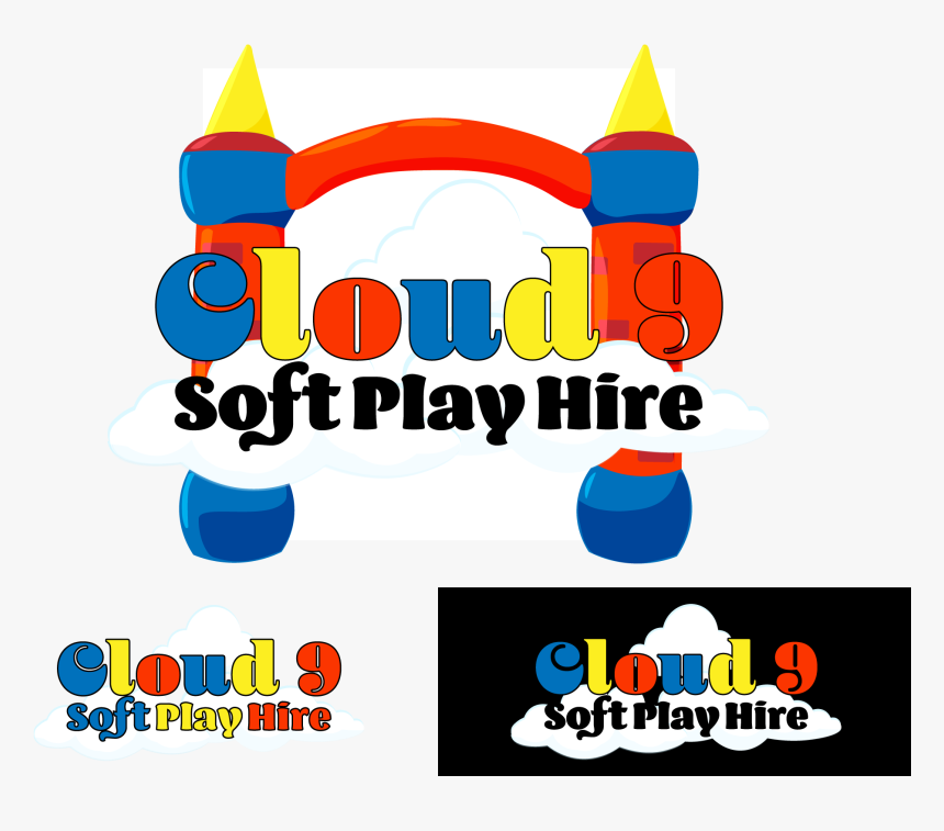 Logo Design By Double Archangel Design For Cloud 9 - Graphic Design, HD Png Download, Free Download