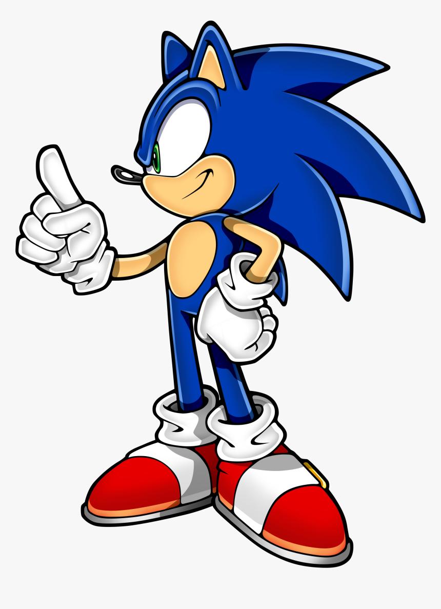 Transparent Sonic The Hedgehog Logo Png Sonic The Hedgehog Side View Png Download Kindpng