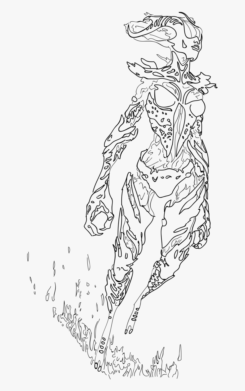 Skyrim Colouring Pages With Transparent Backgrounds - Skyrim Coloring Pages, HD Png Download, Free Download