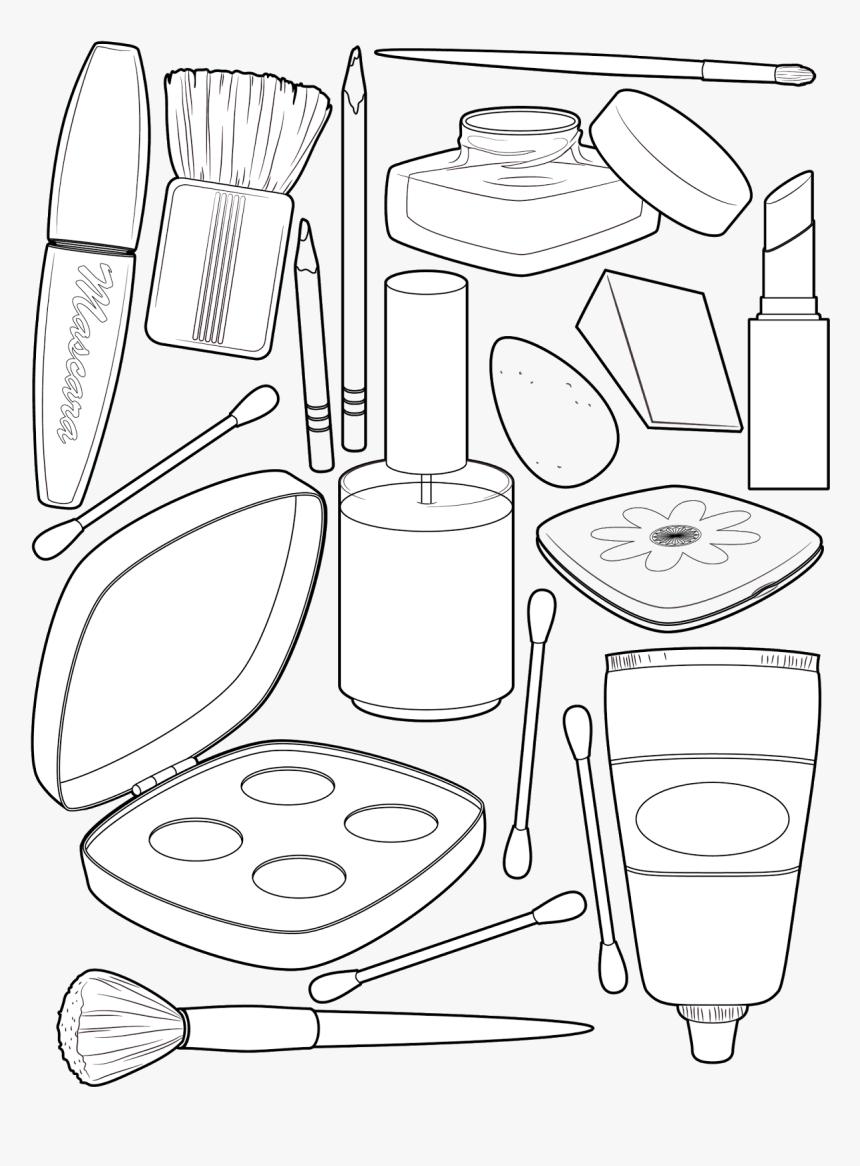 Transparent Tumblr Png Coloring Pages Kosmetika Raskraska Png Download Kindpng