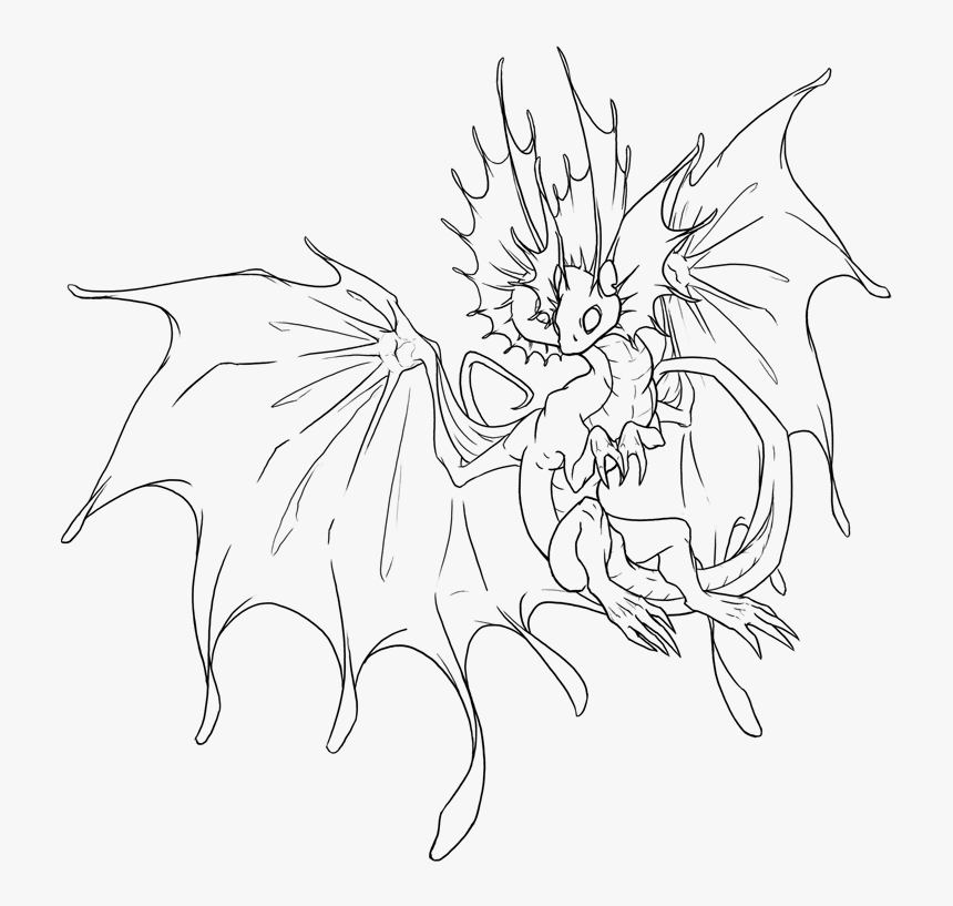 Flight Rising Coloring Pages, HD Png Download, Free Download