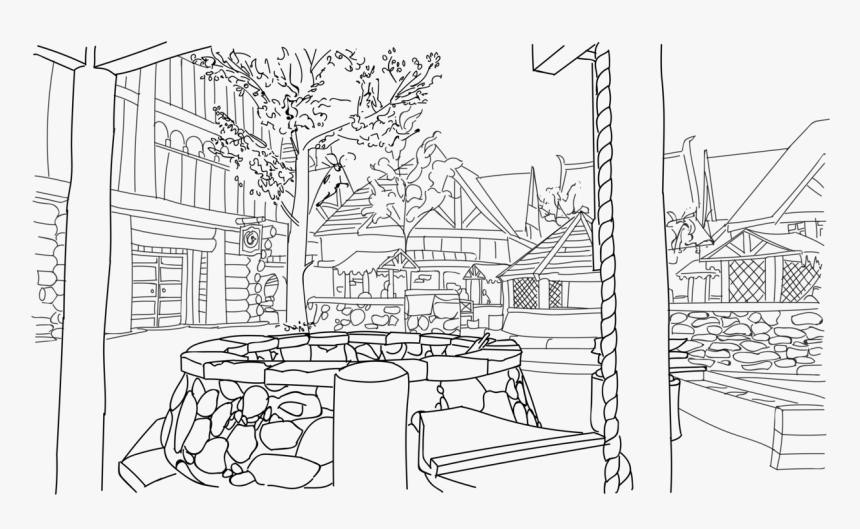 Easy Skyrim Coloring Pages, HD Png Download, Free Download