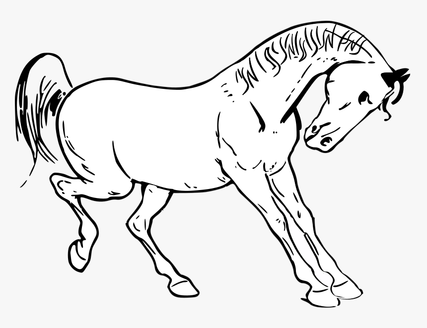 Horse head coloring pages - Hellokids.com | 661x860