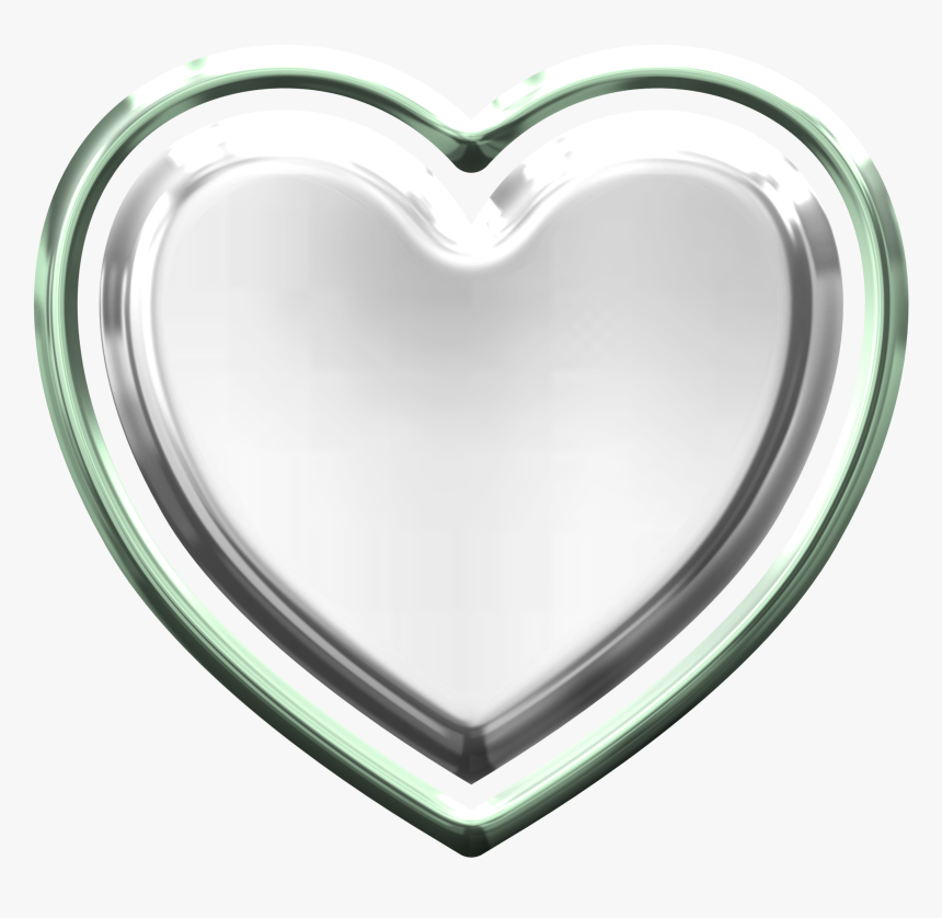 Silver Heart Png Image - Silver Heart Png, Transparent Png, Free Download
