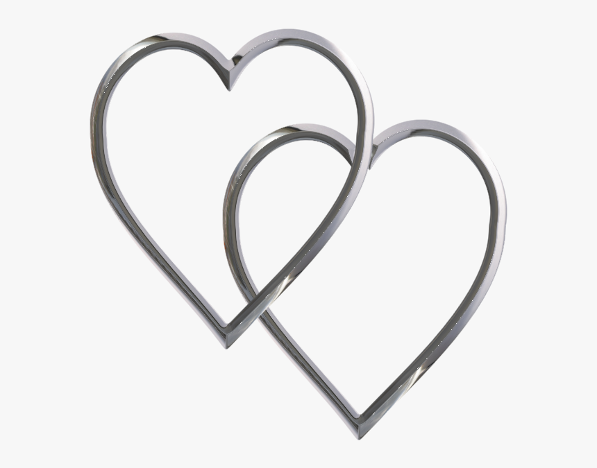 Hearts Clip Art Free Cliparts That You Can Download - Silver Heart Clipart, HD Png Download, Free Download
