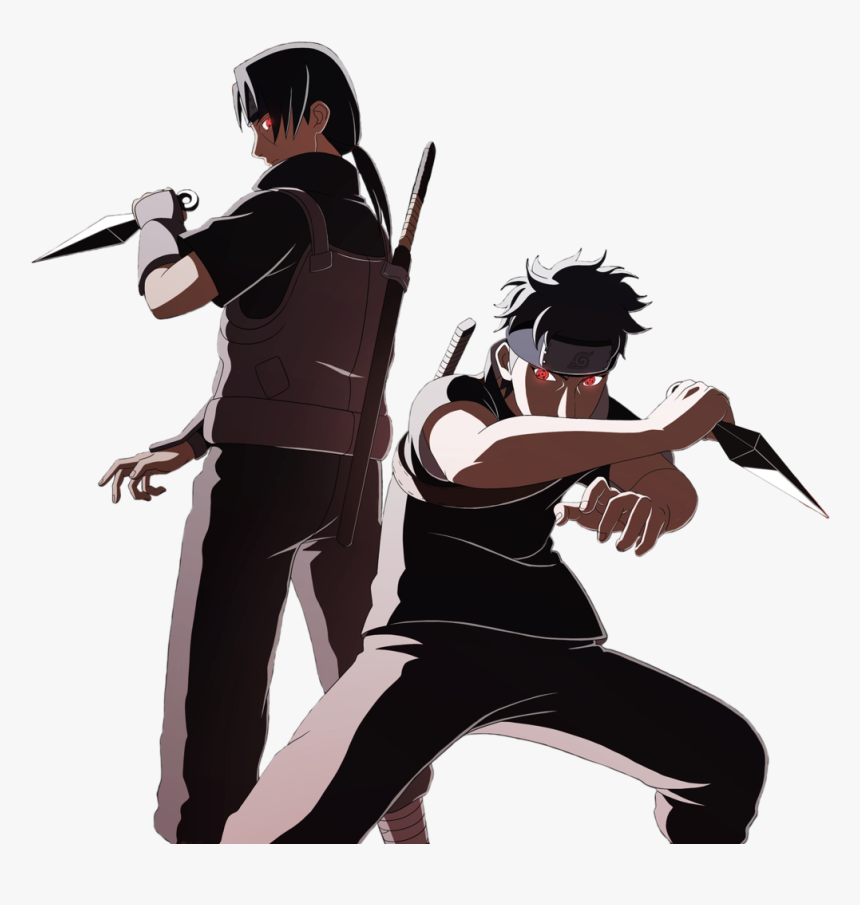 Naruto Itachi Shisui Anime Sharingan - Itachi And Shisui Png, Transparent Png, Free Download
