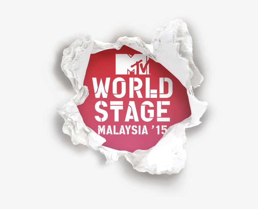 172776 Mtv - World - Stage - Malaysia - 2015 - Logo - Mtv Video Music Awards, HD Png Download, Free Download