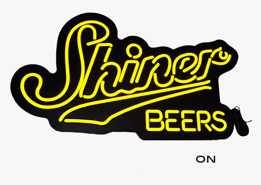Shiner Gold Led Sign - Spoetzl Brewery, HD Png Download, Free Download