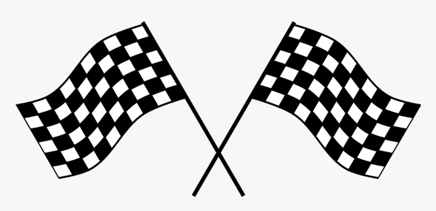 Checker, Flag, Race, Checkered Flag, Checkered, Win - Race Car Flag Png, Transparent Png, Free Download