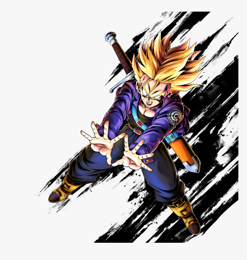 Dragon Ball Legends Trunks, HD Png Download, Free Download