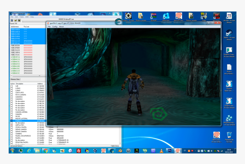 [img] - Demul Soul Reaver Widescreen, HD Png Download, Free Download