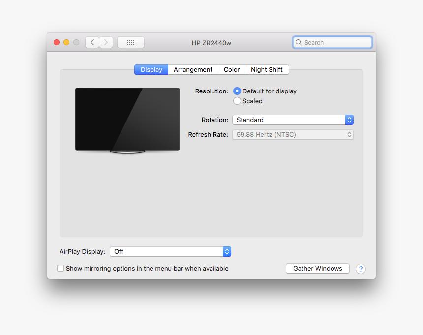 Screen Shot 2018 10 17 At 2 42 08 Pm - Arrangement Tab On Macbook Pro, HD Png Download, Free Download