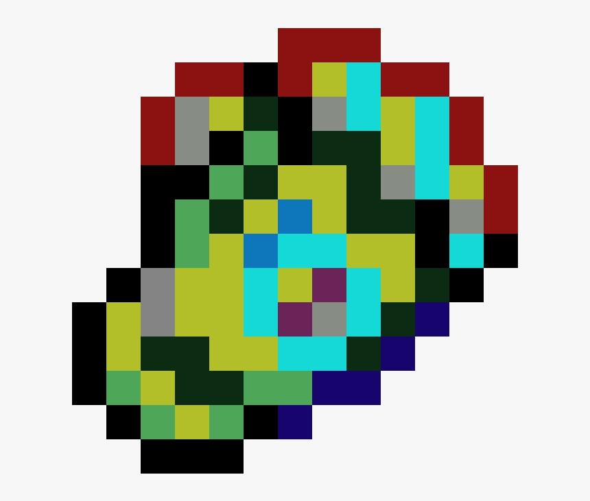 Kawaii Rainbow Heart Pixel Art Png Download 8 Bit Mario