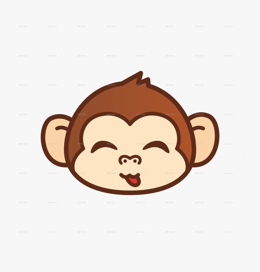 Cartoon Monkey Face Png Transparent Png Kindpng