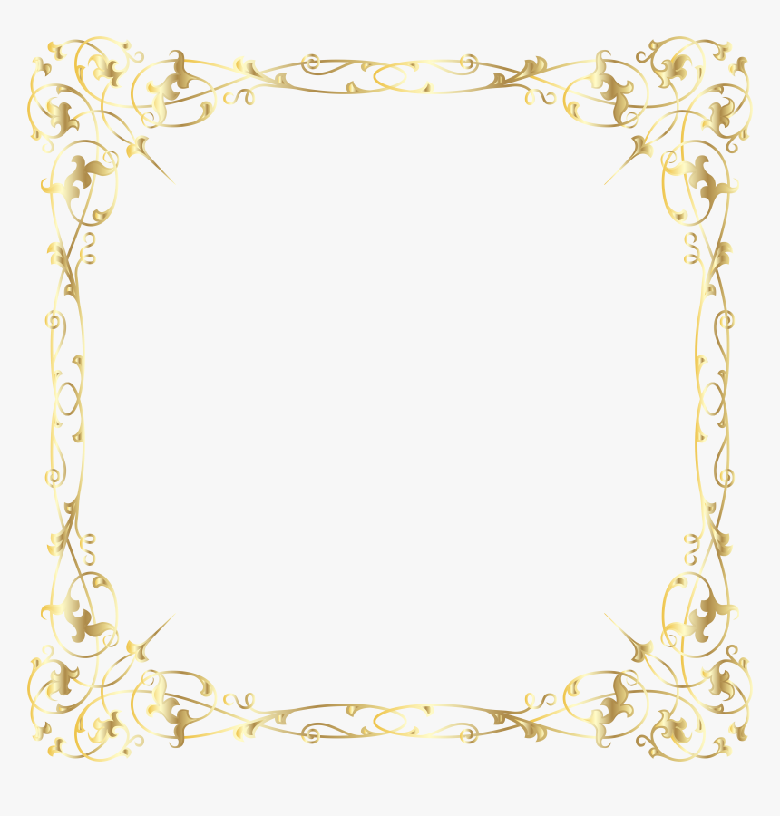 Decorative Border Png, Transparent Png, Free Download