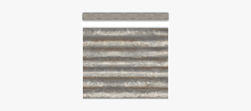 Corrugated Metal Straight Border Trim - Eye Shadow, HD Png Download, Free Download