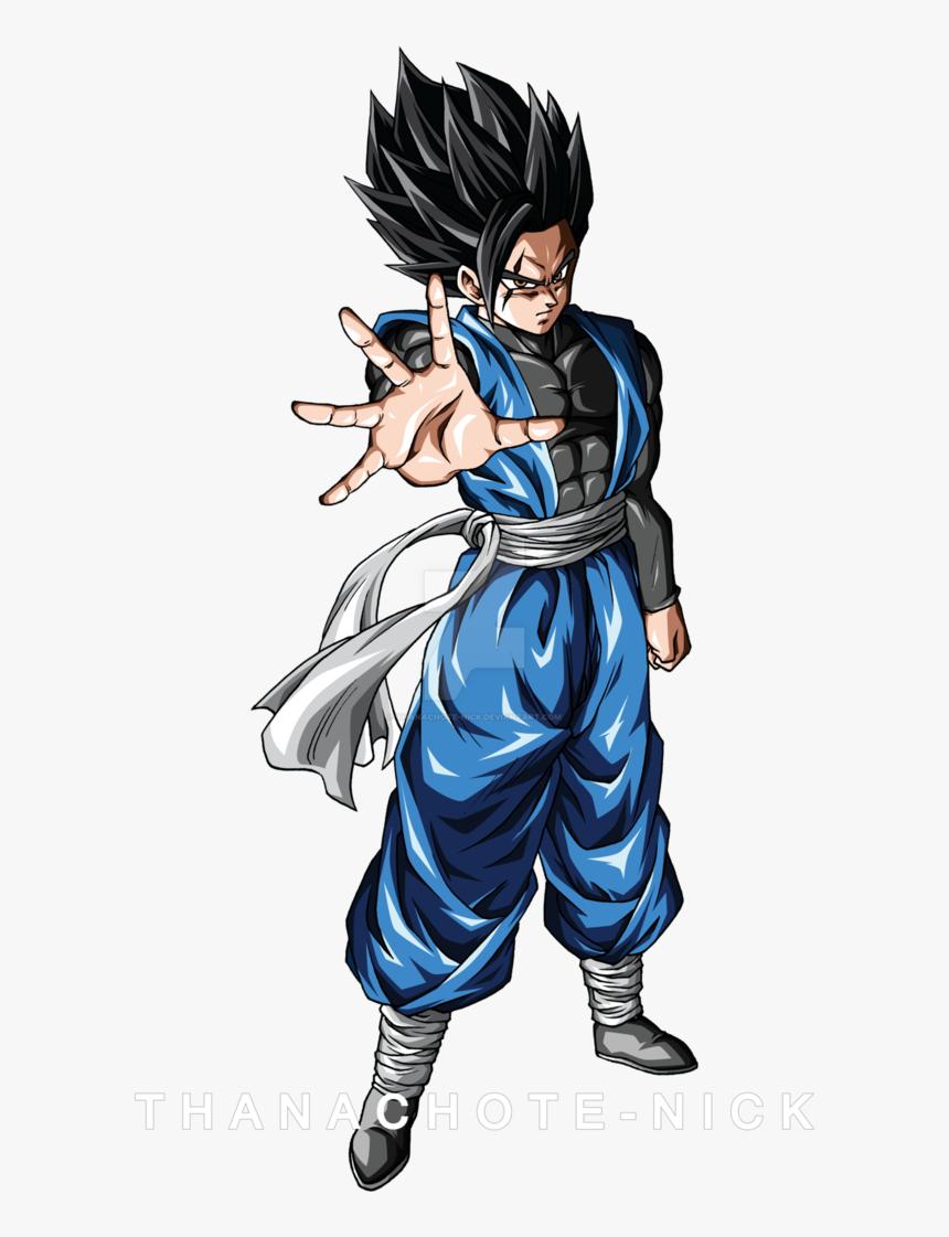 Dbxv2 [color] By Thanachote-nick Goku Vs, Dbz - Anime Dragon Ball Z Oc, HD Png Download, Free Download