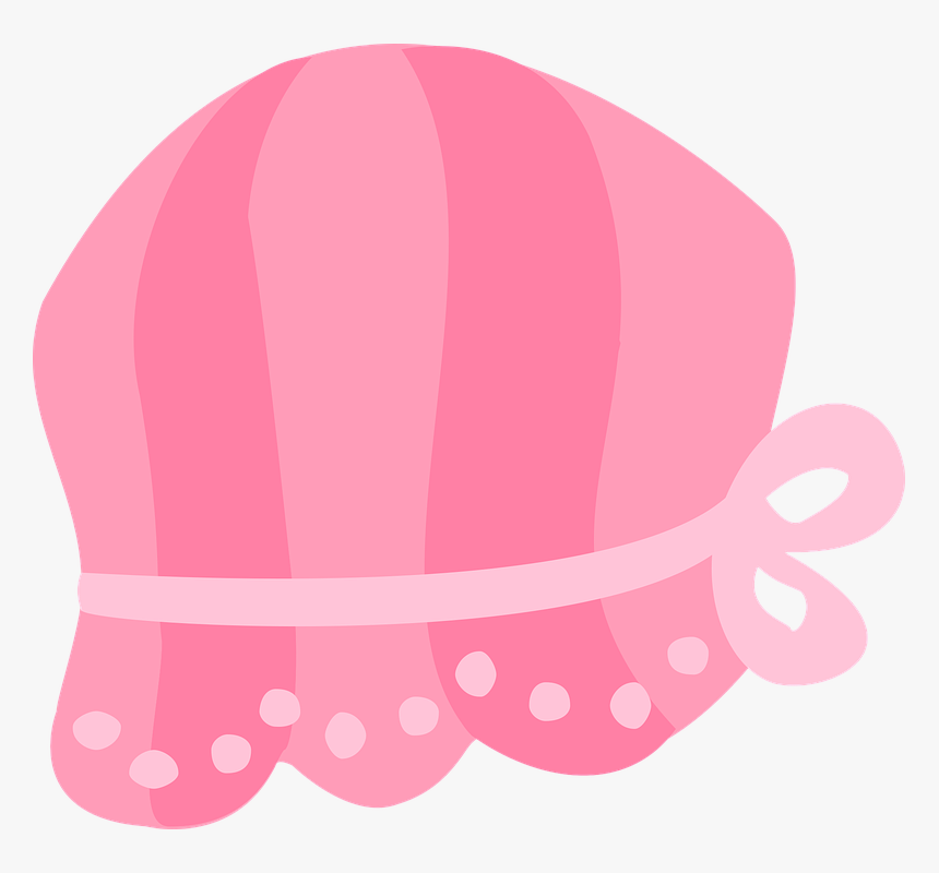 Pink, Baby, Girl, Child, Pregnancy, Cute, Female - Gorro Bebe Niña Vector, HD Png Download, Free Download