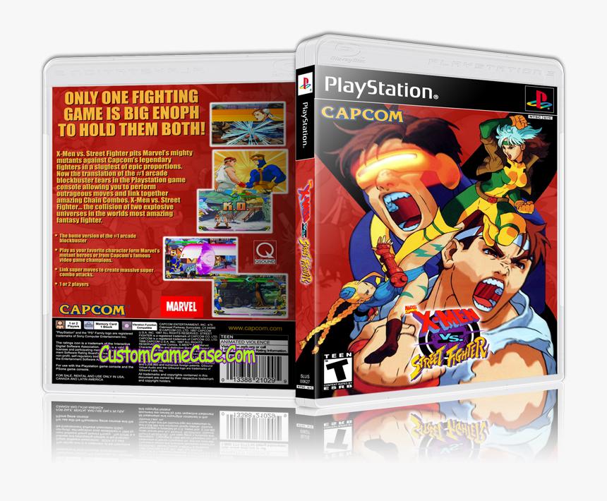 Transparent Vs Street Fighter Png X Men Vs Street Fighter Cover
