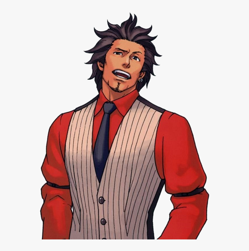Ace Attorney Diego Armando Godot Hd Png Download Kindpng